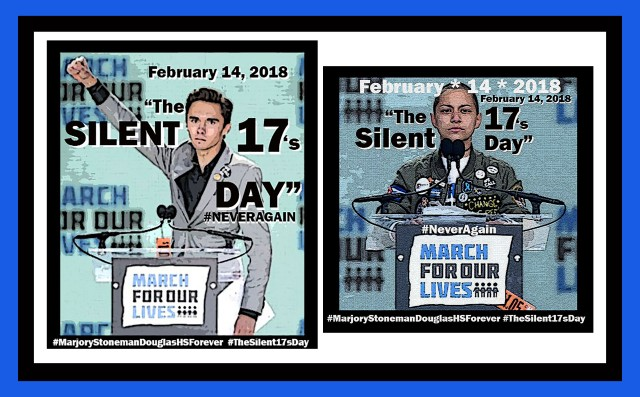 DAVID HOGG and EMMA GONZALEZ THE SILENT 17's NEW RESISTANCE